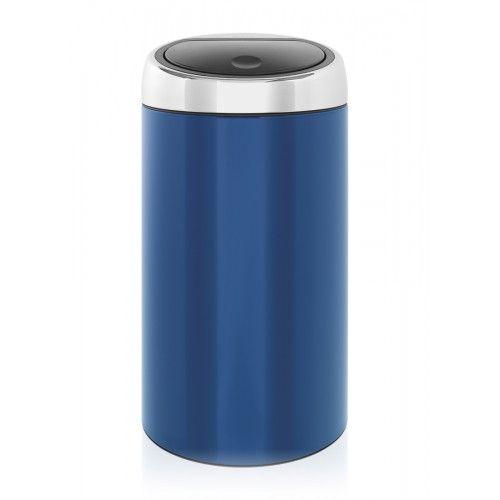 Brabantia Touch Bin 30 Liter.Brabantia Touch Bin 30l Cobalt Blue