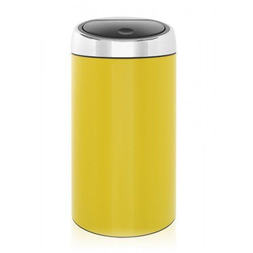 Touch Bin 45 Liter.Brabantia Touch Bin 45l Yellow